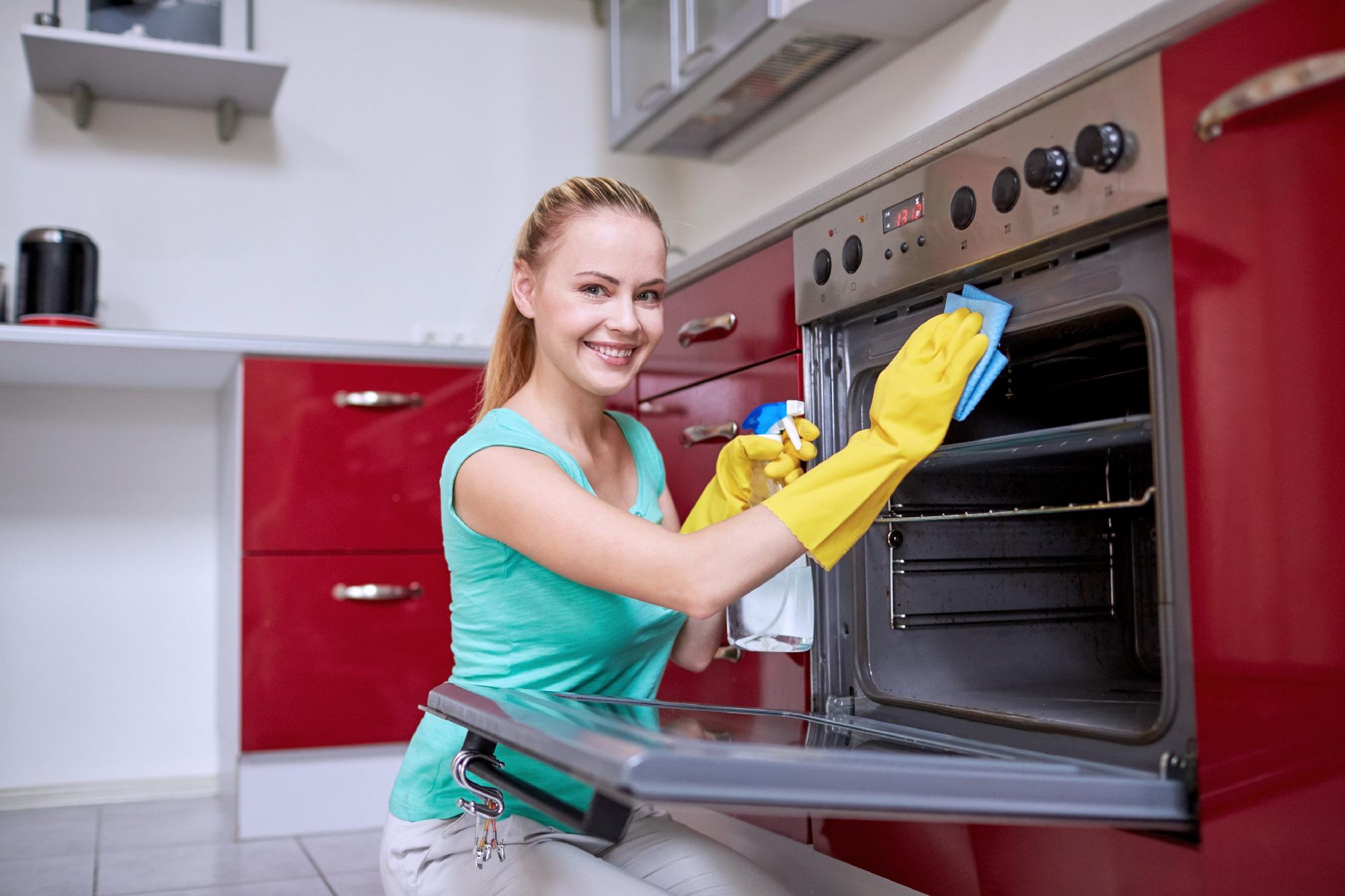 Eine Top Küche dank der Putzfrauenvermittlung.ch aus Zürich